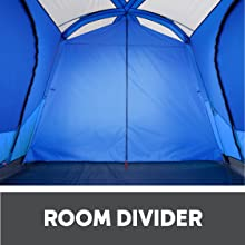 Room divider family tent extra room attached zip up room multi room tent large family camping tent