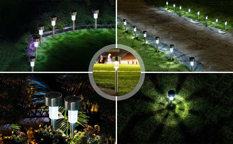 Solar Powered Pathway Light outdoor