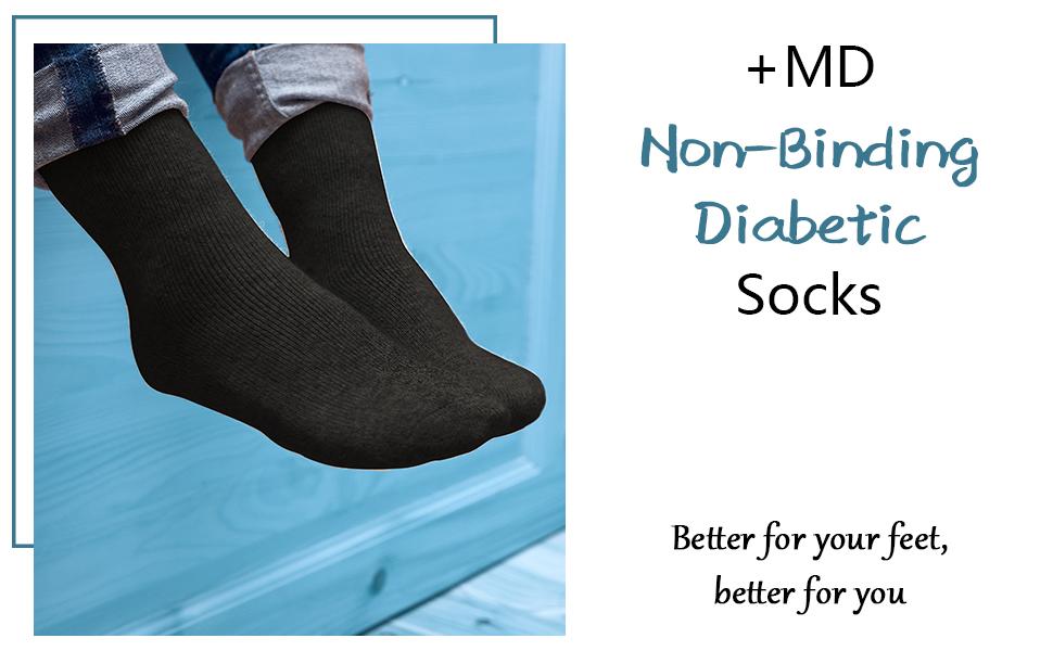 diabetic crew socks for men