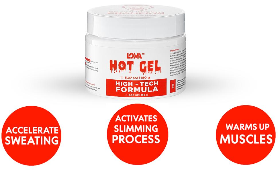 active fat burner gel