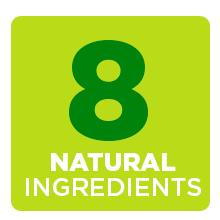8 natural ingredients