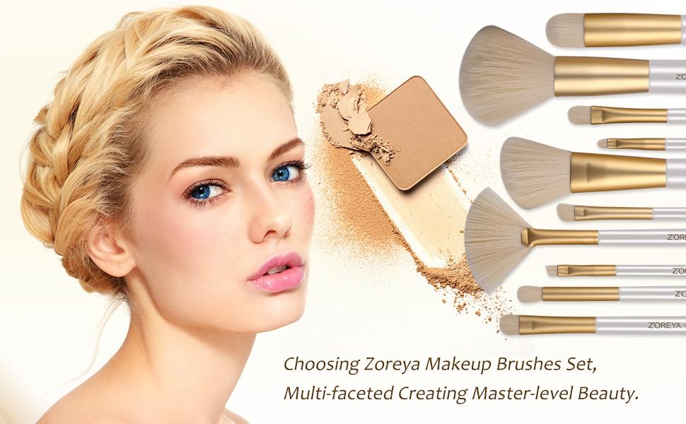 makeup brush set professional makeup brushes