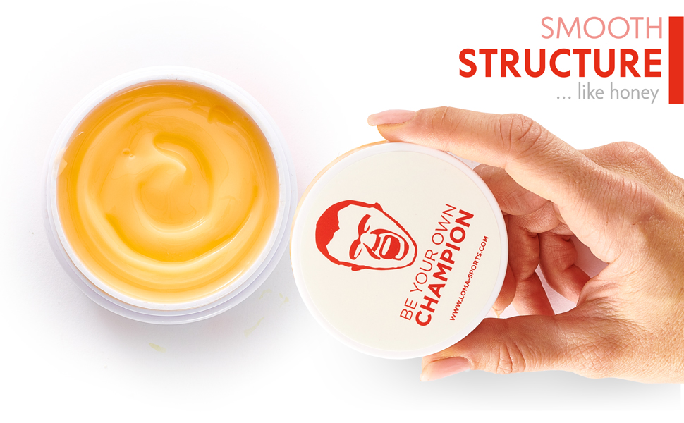 smooth consistence hot gel