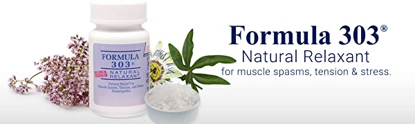 Dee Cee Labs Formula 303 All Natural Relaxant
