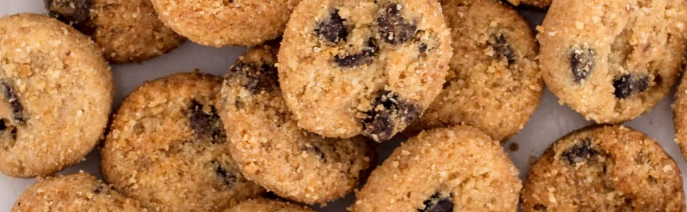 cookie texture chocolate chips