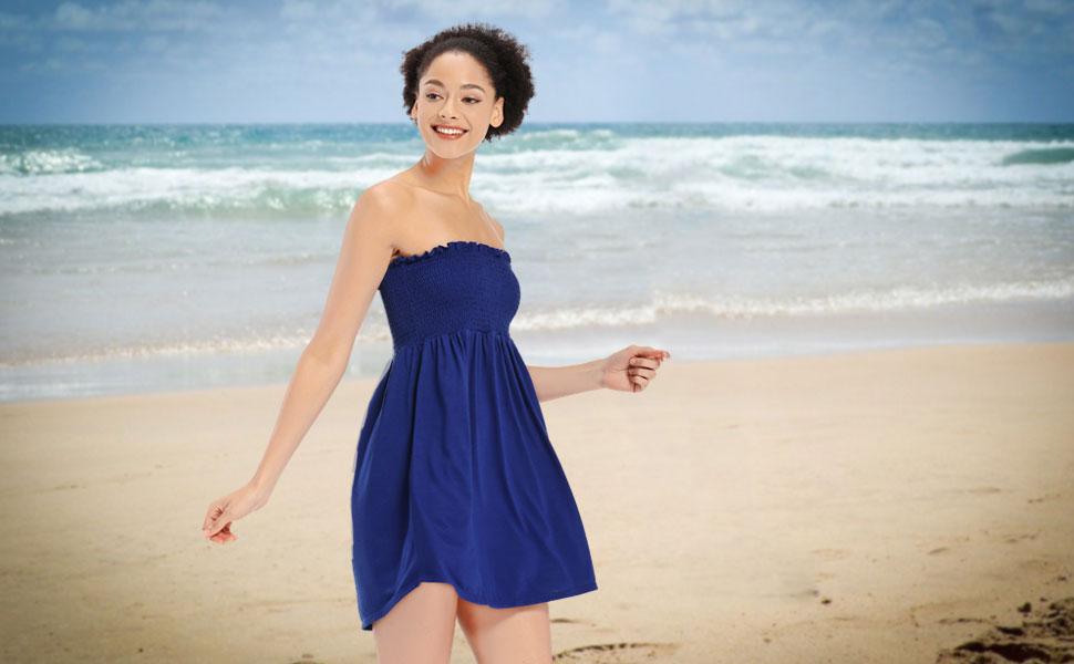 cute cover ups mini dress beach wear