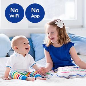 vidoe baby monitor with camera and audio