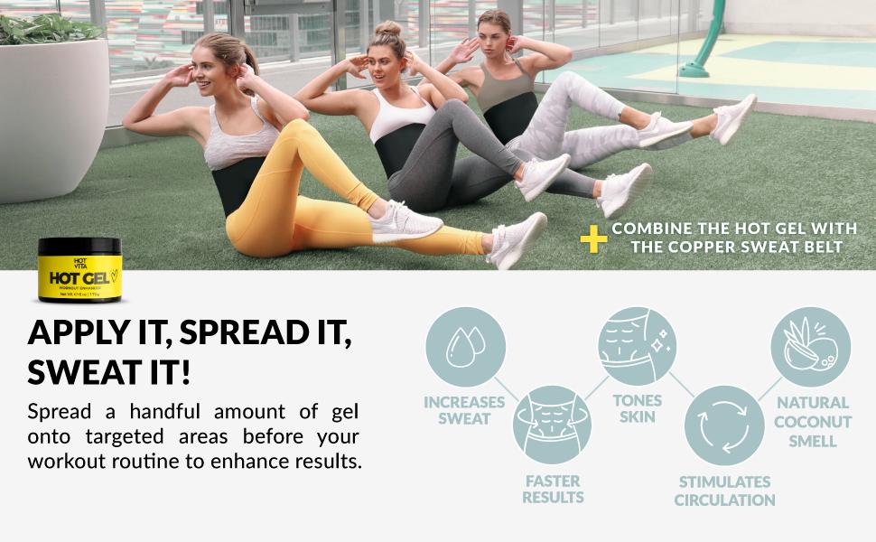 increase sweat tones skin hot cream