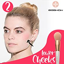 Professional Makeup Brush set Beauty Cosmetic Foundation Power Blushes eyelashes Lipstick Natural-