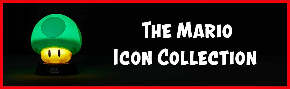 The Mario Icon Collection