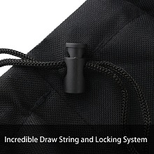 Incredible Draw String and Locking System
