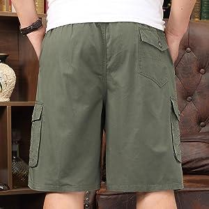 mens lightweight cargo shorts hiking