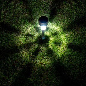 Solar Powered Pathway Light