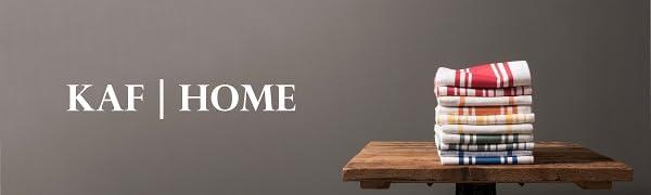 kaf home, home decor, housewares, kitchen linens, home textiles, table linens, kitchen textiles