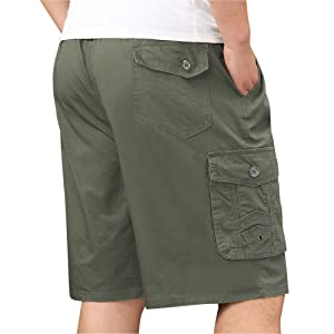 big and tall shorts for elder men
