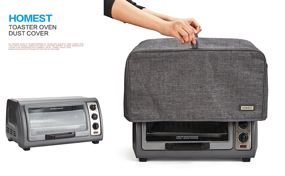 toaster oven dust cover