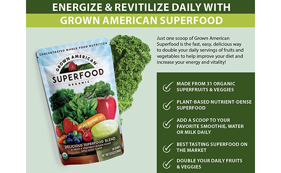Energize and Revitalize