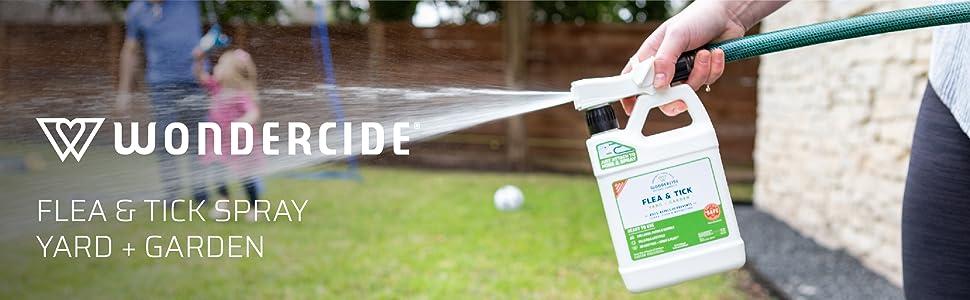 Wondercide flea tick spray yard garden insects bugs non toxic