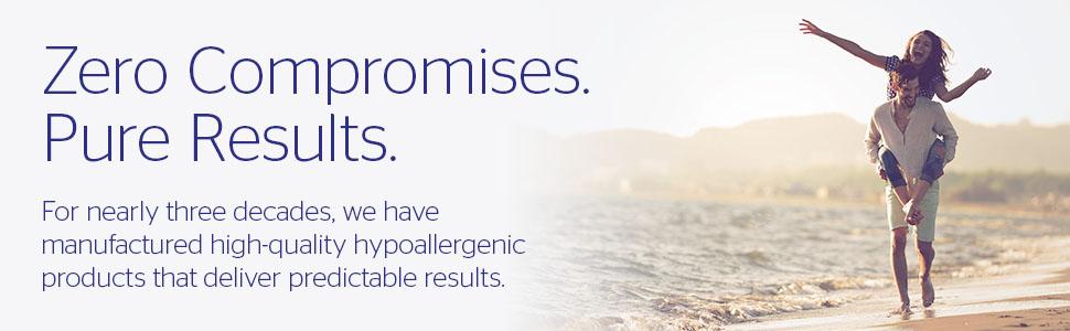 zero compromises pure results