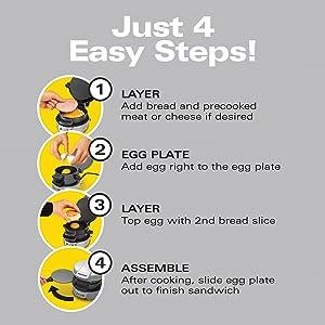 4 easy steps