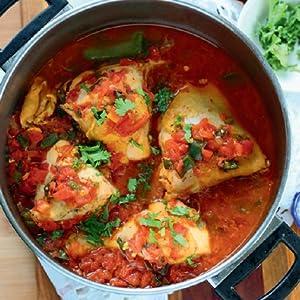 POLLO ENTOMATADO (Chicken in Tomato Sauce)