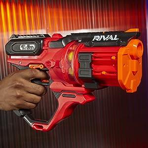 nerf rival gun; roundhouse xx-1500; nerf rival roundhouse; rival roundhouse gun; nerf guns for teens