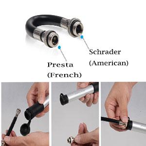 Presta & Schrader Compatible