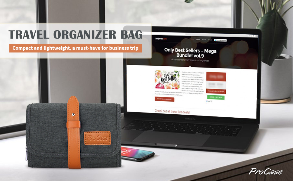 Electronics Travel Organizer Bag