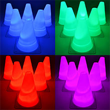 light up agility cones