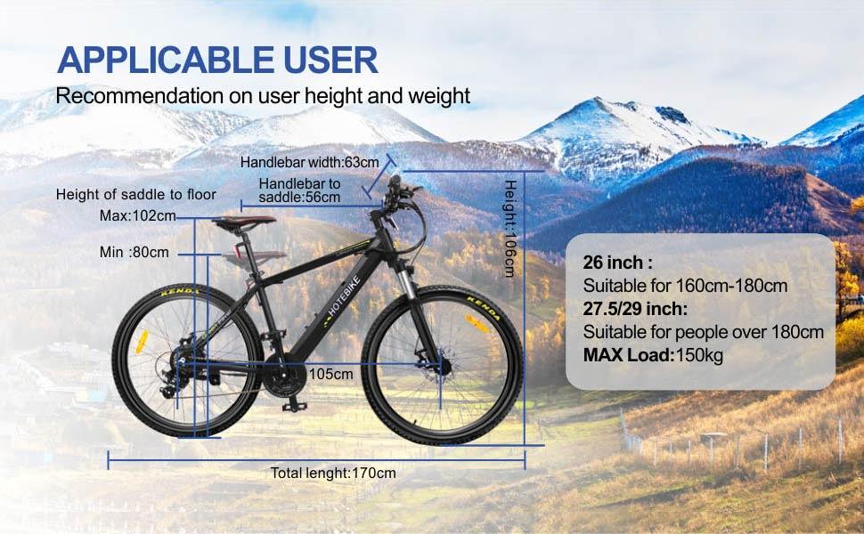 Electric Mountain Bike A6AH26